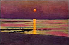 F lix vallotton les couchers de soleil fondation pierre - Heure du coucher de soleil aujourd hui ...