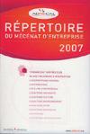 Répertoire du mécénat d'entreprise 2007 - Admical