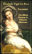 Souvenirs - Elisabeth Vigée-Lebrun