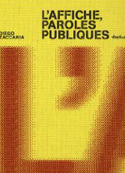 L'affiche, paroles publiques - Diego Zaccaria